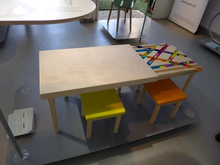 Stół dla dzieci, Centrum Designu Gdynia