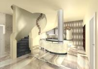 Kuchnia pod schodami