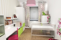 Pokój małej dziewczynki