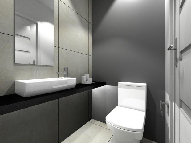 Projekt Łazienki by Autorska Pracownia Projektowa Proste Wnętrze